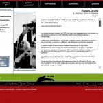 Isole che Parlano 2007 - sito in Flash - scheda artista