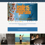 Isole che Parlano 2015 - sito in Wordpress - Layout wide, parallax, Responsive